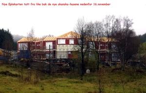 Nye Eplekarten tatt fra like bak de nye skanska-husene nedenfor 16.november